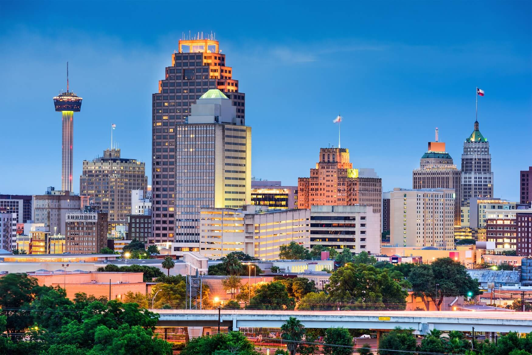 Image result for San Antonio skyline