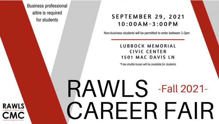 Texas Tech University Rawls Career Fair